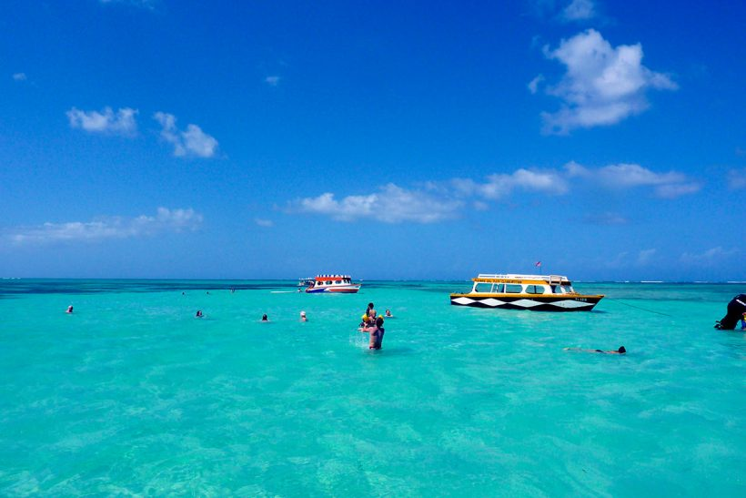 Tobago_2_Sončen Nylon Pool s kristalno čisto vodo
