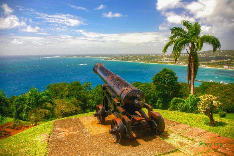 Tobago_3_Razgled iz mogočne utrdbe King George
