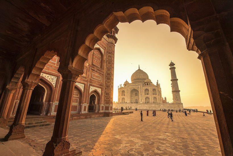 Hisa Potovanj Indija Agra 11 Taj Mahal