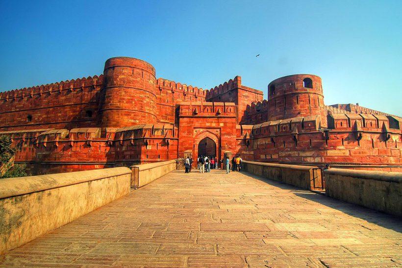 Hisa Potovanj Indija Agra 3 Red Fort
