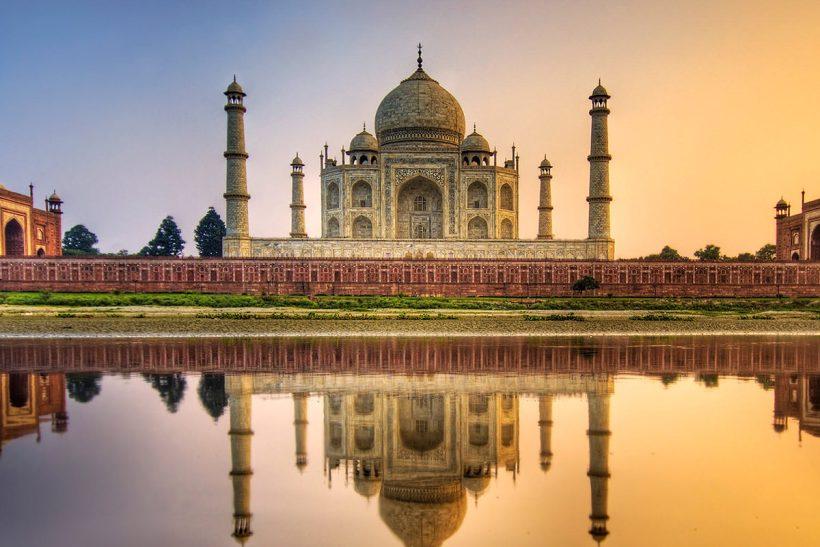 Hisa Potovanj Indija Agra 4 Taj Mahal