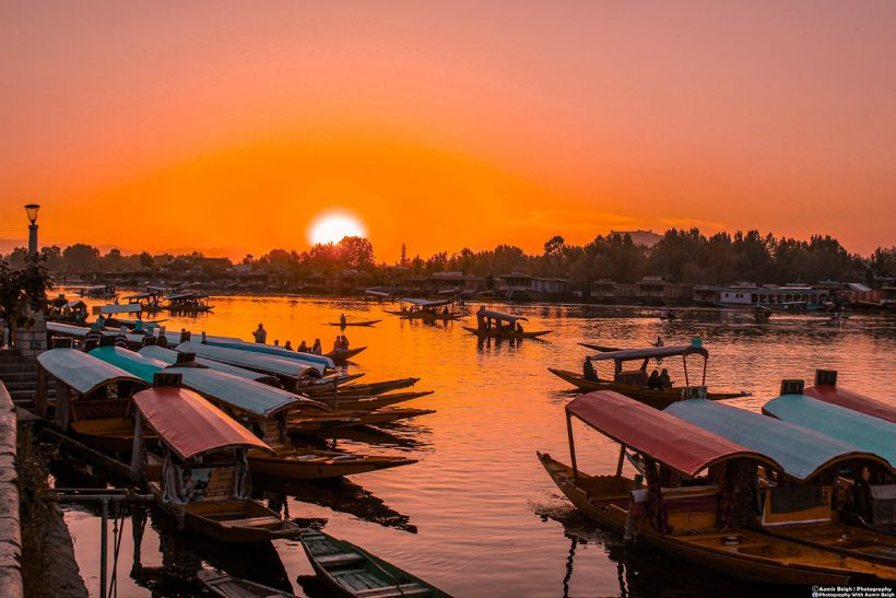 Hisa Potovanj Srinagar Jezero Dal Indija 004