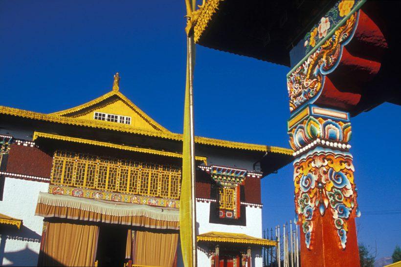 Hisa Potovanj Darjeeling Sikkim 017 Pelling Pemayangtse Gompa