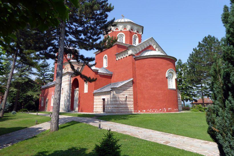 Hisa Potovanj Srbija Po Dolini Kraljev 03 Samostan Zica
